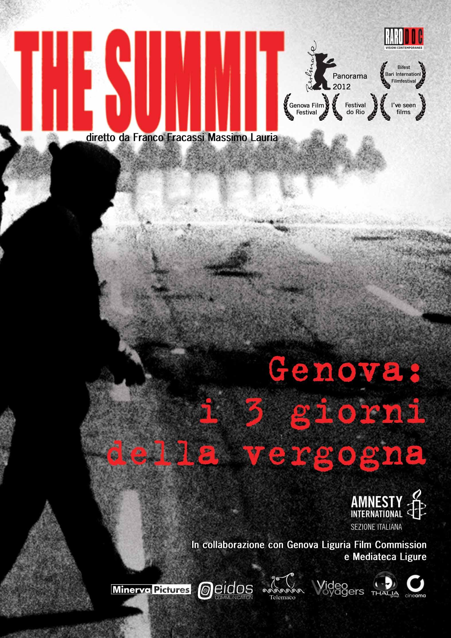 """Proiezione DOC """"THE SUMMIT - Genova i 3 giorni della vergogna"""""""