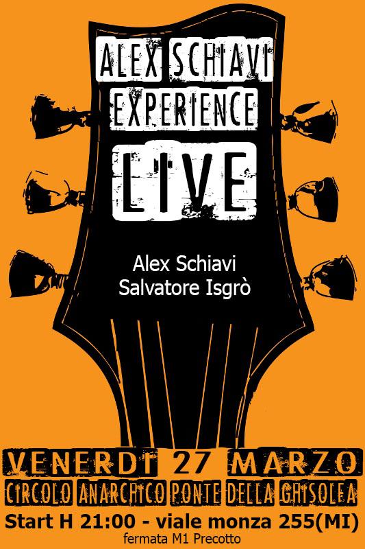 Alex Schiavi Experience LIVE!