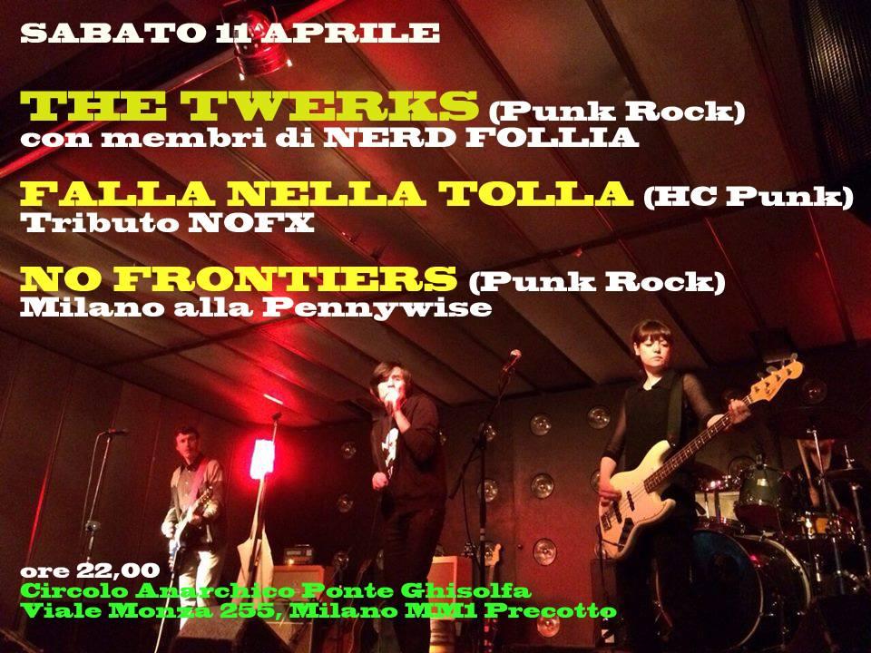 live: TWERKS + FALLA NELLA TOLLA