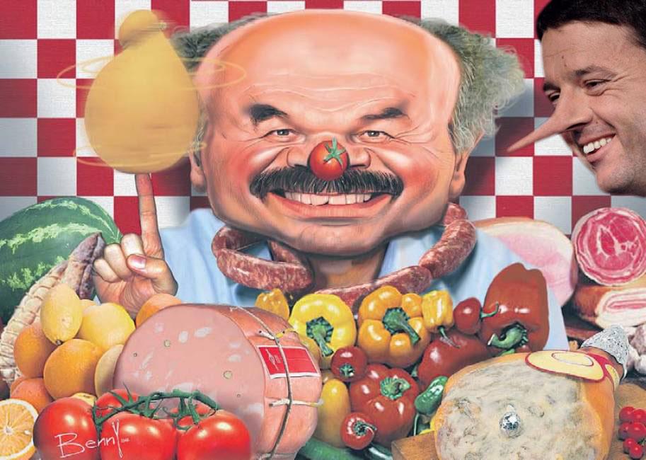 """Presentazione """"La danza delle mozzarelle"""" con l'autore Bukowski. #Farinetti, #Eataly, #Slowfood, #Expo2015… è tutto un magna magna."""
