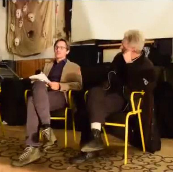 """Report video """"Venditori di Fumo"""" di Giuliano Pavone @ circolo Anarchico Ponte della Ghisolfa 06-11-2015"""