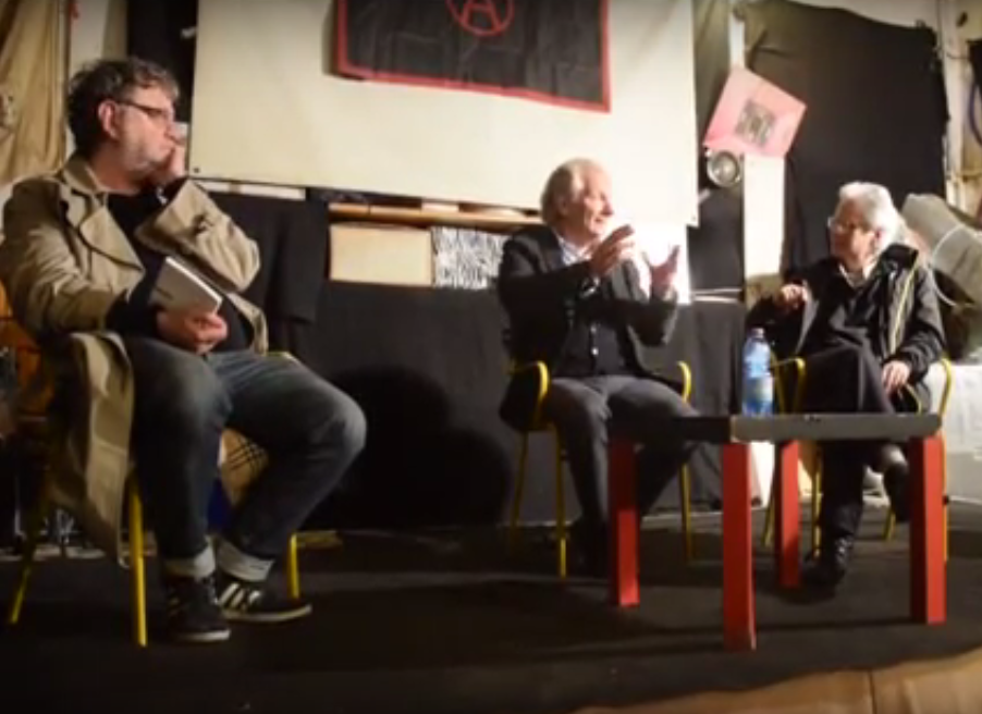 """Christian Marazzi """"Diario della crisi infinita"""" @ circolo Anarchico Ponte della Ghisolfa 15/10/2015"""