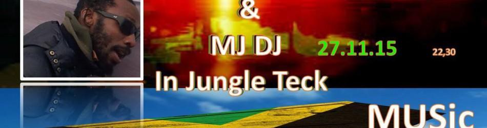 Emanuel Kadamawi & MJ DJ In Jungle Teck @ circolo Anarchico Ponte della Ghisolfa 27-11-2015