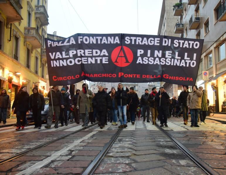 assemblea cittadina 12 dicembre strage di stato @ circolo Anarchico Ponte della Ghisolfa 12-11-2015