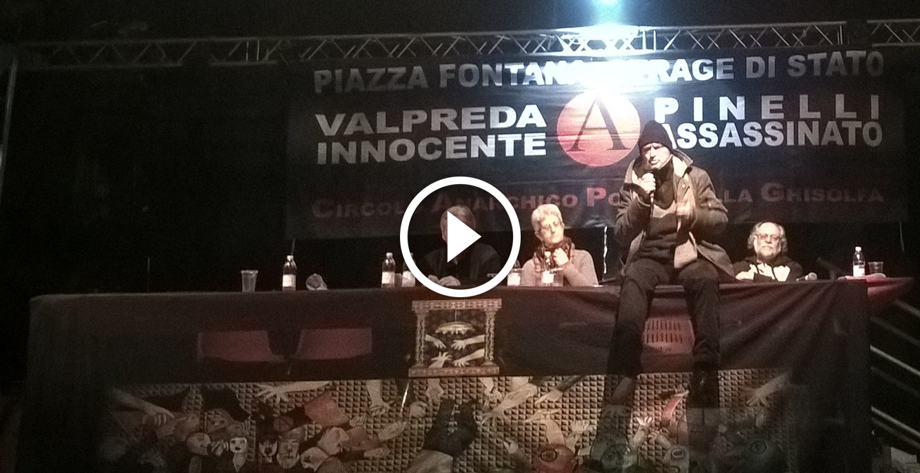 video Pinelli Assassinato 2015-12-15 @ Leoncavallo