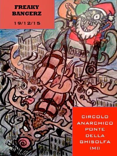 PuSsY BaNgErZ VoL. II @ circolo Anarchico Ponte della Ghisolfa 19-12-2015