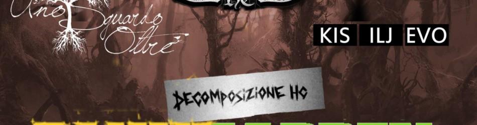 Anestesi HC + Uno Sguardo Oltre + Kisilijevo + Decomposizione HC @ circolo Anarchico Ponte della Ghisolfa 20-01-2016