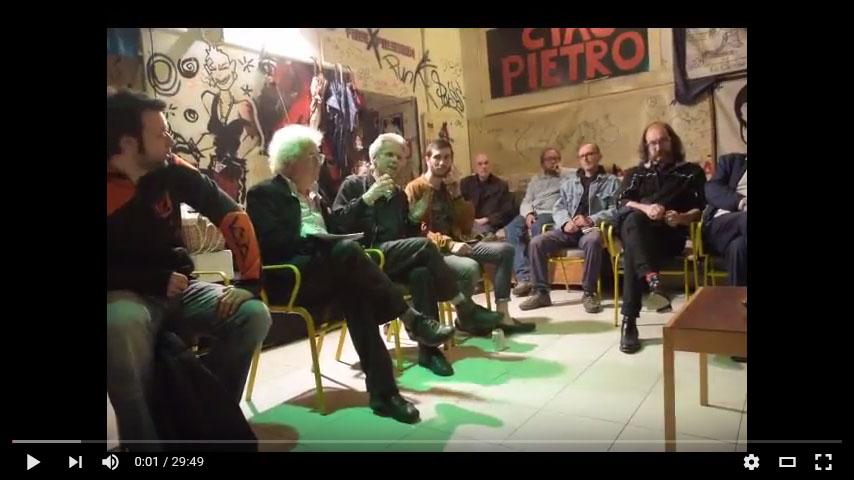 """Video presentazione di """"Neurocapitalismo"""" di Giorgio Griziotti @ circolo Anarchico Ponte della Ghisolfa 04-05-2016"""