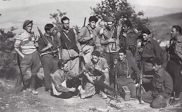 foto partigiani a Montefiorito