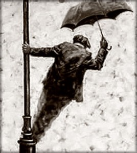 Just singing in the rain….