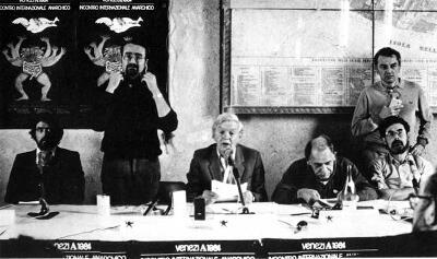 Nico Berti, Amedeo Bertolo, Colin Ward, Murray Bookchin, Rudolf De Jong, Ruben Prieto